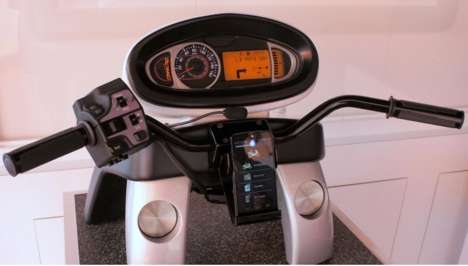 Motorcycle Cluster Concepts - Visteon Develops Electronic Driving Features for Motorcyclists