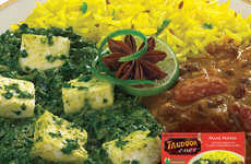 Frozen Cottage Cheese Meals - Tandoori Chef's Frozen Palak Paneer is Delectable