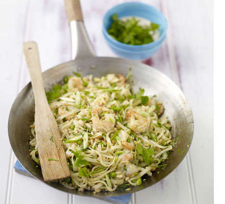 Speedy Thai Cuisine - A Quick Pad Thai Recipe Makes the Most of Ready Frozen Ingredients