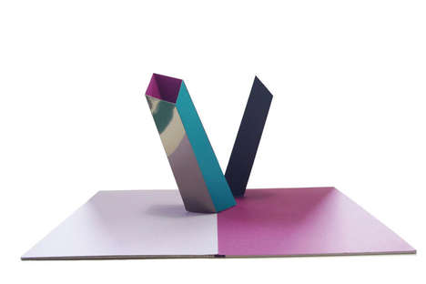 Sophisticated Pop-Up Books - Philippe UG Designs an Artistic Tomb for Grown-Ups