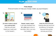 Resolution-Reaching Tips - This Infographic From Happify is on Achieving Goals Well Beyond January