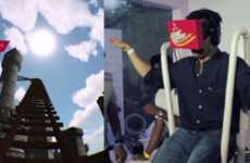 Virtual Ride Simulators - Kingfisher's Roller Coaster Simulator Took Fans on a Virtual Ride