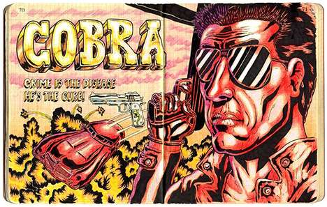 Ultraviolent Cheeky Comics - Bejamin Marra's Latest Comic Book Sketches Do Not Disappoint