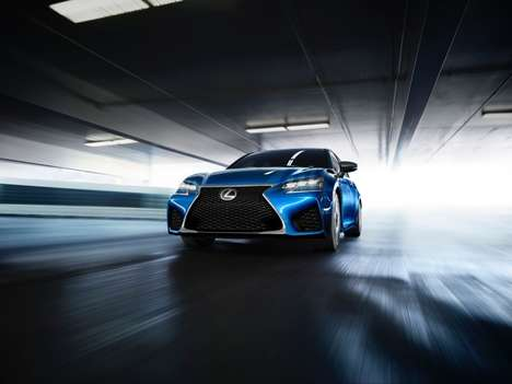 Powerful Luxury Sedans - The Lexus GS F is Set For Unveiling At the Detroit Auto Show