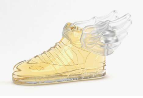 Footwear-Inspired Fragrance - The JS Wings 2.0 Perfume Bottle is Shaped Like Jeremy Scott's Design