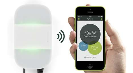 Appliance-Connecting Sensors - The Smappee Energy Monitor Gives Your Devices Connected Capabilities