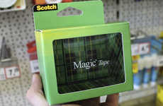 Invisible Packaging Concepts - This Invisible Scotch Tape Features an Enchanting Packaging Concept