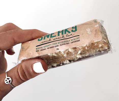 Dessert Superfood Snacks - Sneaky Protein Bars Turn Indulgent Flavors into Healthy Snacks