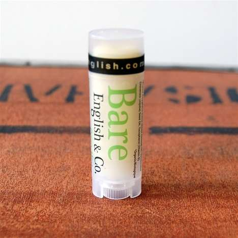 Tea-Infused Lip Balms - Bare English & Co.'s Lip Balm Tubes Are Infused with Tea