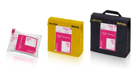 Reusable Delivery Packaging - The RePack System Encourages Consumers to Return Their Used Envelopes
