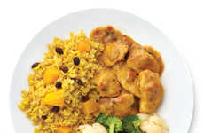 Exotic Frozen Entrees - Luvos' Easy Frozen Dinner Options Include a World of Flavors