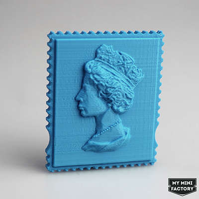 3D-Printed Postal Objects - The Royal Mail Creates & Sells Knickknacks with a 3D Printing Service