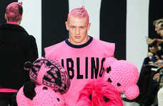 Childlike Craft Project Runways - The Latest Sibling Menswear Collection is Playfully Pink