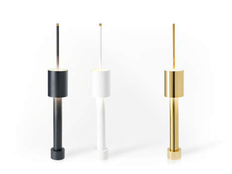 Striking Skyscraper Lamps - The Table Tower Commands Attention in the Room Through Form and Function