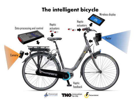 Accident-Avoiding Intelligent Bicycles - Bike Warns Cyclists When Fast-Moving Objects Get Too Close
