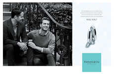 Same-Sex Jewelry Ads - Tiffany & Co. Debuts First 'Will You' Campaign Supporting Gay Marriage