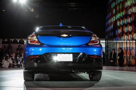 Sporty Electric Cars - Chevrolet's 2016 Volt Was Introduced At the Detroit Auto Show