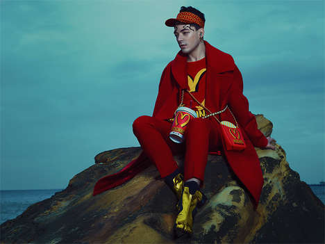 Costumed Menswear Couture - F****** Young! Online's Le Portrait Crepusculaire Story is Scenic
