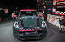 Revamped Compact Cars - The MINI John Cooper Works Model Premiers at the Detroit Auto Show