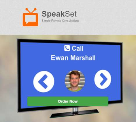 Elderly Video-Calling Platforms - Speakset is a Simplified Video Calling Service for Seniors