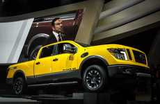 Tech-Infused Pickups - The Nissan Titan XD Has an Imposing Presence