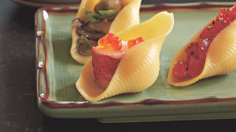 Pasta-Sushi Hybrids - This Unique Dish Blends Italian and Japanese Cuisine