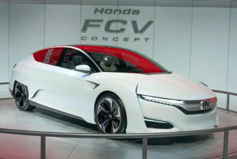 Efficient Fuel-Cell Vehicles (UPDATE) - Honda FCV Gets Power from a Stack Two Thirds the Usual Size