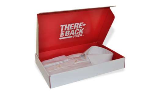 Returnable Shipping Boxes - The 'There and Back Pack' is a Handy Return Shipping Box