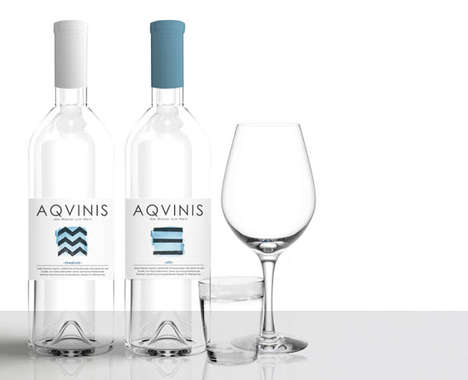 Wine-Inspired Water Bottles