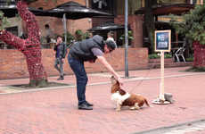 GPS Puppy Stunts - This Street Marketing Stunt Has Dogs Lead People to Discover Deals
