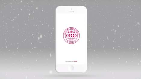 Winter Rescue Apps - This App Lets Volunteer Audi Drivers Help Others Stuck in the Snow