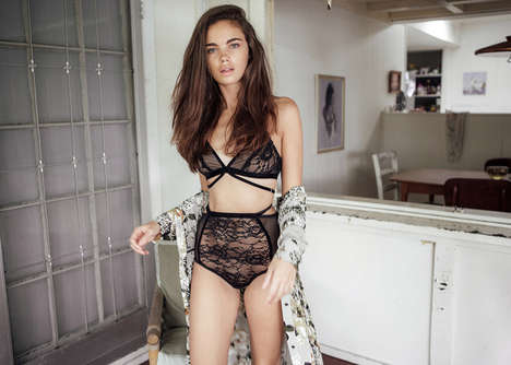Sensuous Estate Editorials - Natalie Cottee Photographed Jena Goldsack for C-Heads