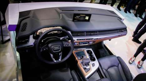 Tech-Equipped Dashboards - The Audi Q7 Virtual Cockpit Aids Drivers and Passengers