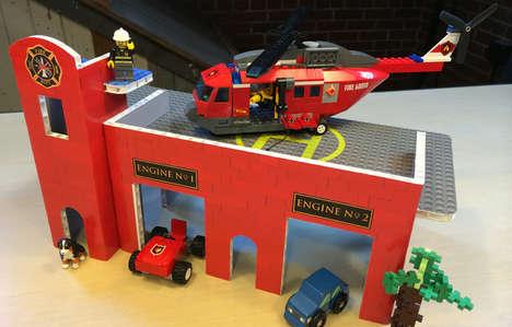 Eco Flat-Pack Playsets - BrikBilt's Toys Serve as a Cheap LEGO Playset Alternative