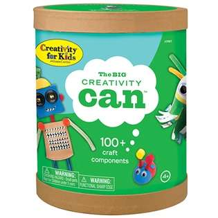 Craft-Containing Cans - The Creativity Can Lets Kids Get Imaginative With Less Structure in Place