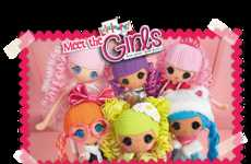 Rag Doll Headphones - LalaLoopsy's Children's Headphones are Designed in the Doll's Signature Style