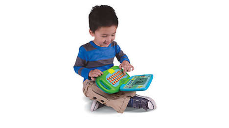 Playful Kids' Computers - The Leaptop has Educational Basics Integrated for Interactive Learning