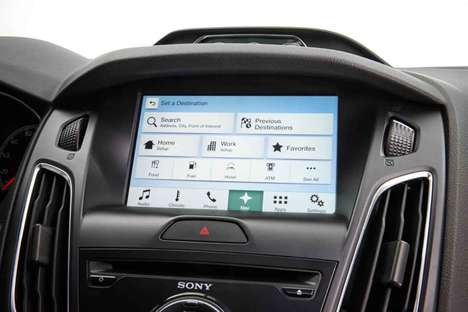 Car Control Systems - Launched at CES 2015, Ford SYNC 3 is a Powerful Infotainment System