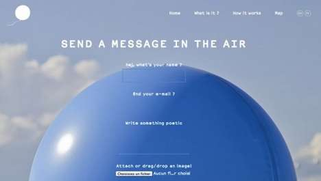 Balloon Messaging Projects - David Colombini's Attachment Project Sends Notes Via Balloon