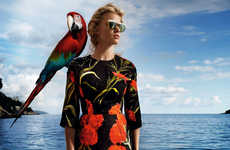 Tropical Holiday Editorials