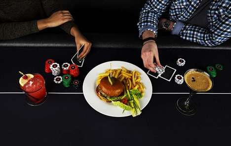 Pop-Up Poker Restaurants - This Unique Pop Up Restaurant Has Diners Pay with Texas Hold-Em