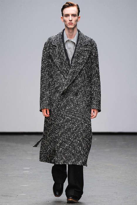 Relaxed Gentleman Runways - The Latest E. Tautz Menswear Collection Boasts an Abundance of Tweed