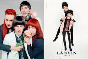 The Latest Lanvin Menswear Campaign is Inspired by Music History