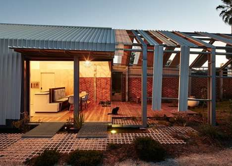 Inside-Out Homes - This Andrew Maynard Architects Design is Intentionally Incomplete