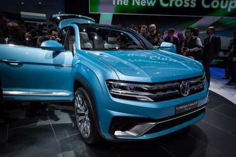 Square-Shaped SUVs - The Cross Coupe GTE Has a Very Square Form