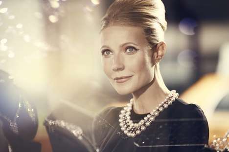 20 Tributes to Gwyneth Paltrow - From Celeb Lifestyle Pop-Ups to Nearly Naked Gowns
