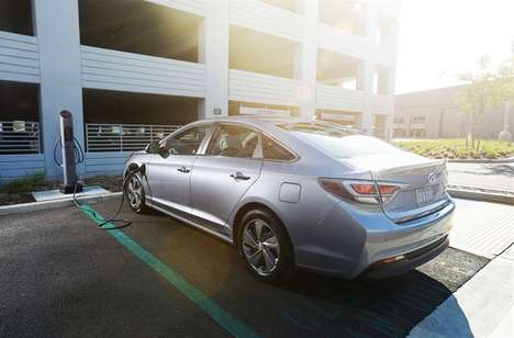 Plug-In Hybrid Cars - The 2016 Hyundai Sonata Plug-In Was Unveiled At the Detroit Auto Show