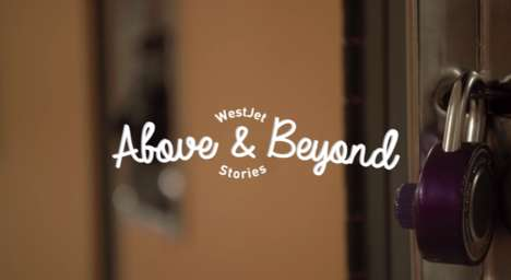 Inspiring Influencer Webisodes - Westjet's Above and Beyond Series Highlights Inspiring Individuals