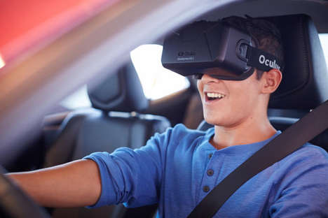 Distracted Driving Simulators - Toyota Uses Oculus Rift Headsets to Simulate Texting and Driving