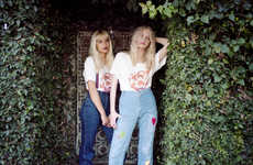 Magical Sisterhood Editorials - This Sugarhigh Lovestoned Editorial Features a Pair of Best Friends